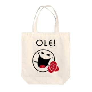 Ole SMILEY [俺、スマイリー] Tote bags