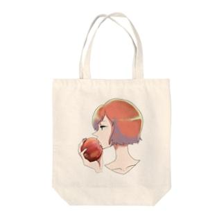 林檎と婦女 Tote bags