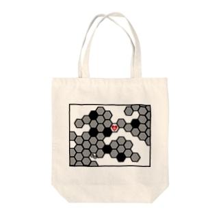 兎蜂の巣。 Tote bags
