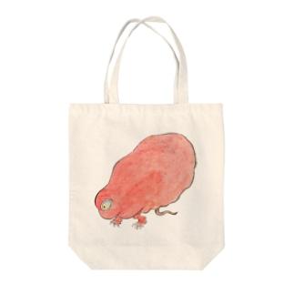 百鬼夜行絵巻 赤い妖怪【絵巻物・妖怪・かわいい】 Tote bags