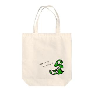 あんびくん(恐竜) Tote bags