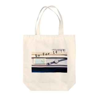 Go For It!! Tote bags