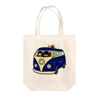 ゴトロカー Tote bags