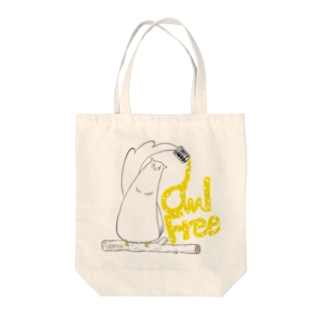 I.gasu owlfree1 【アイガス】 Tote bags