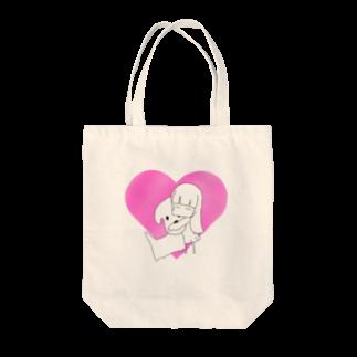 月河ナイのいぬがすき Tote bags