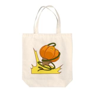 bekkouの爆裂かぼちゃ Tote bags