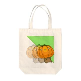 bekkouのかぼちゃワープ Tote bags
