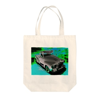 CHEVROLET 3100 Pick Up 1/25 ブルー文字入り Tote bags