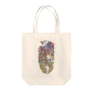 color-code totebag by F.W.W. トートバッグ