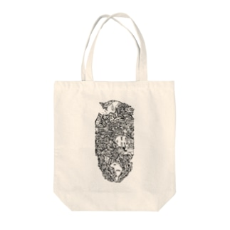 color-code monochrome totebag by F.W.W. トートバッグ
