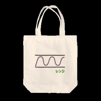 musclerのローソク足(レンジ) Tote bags
