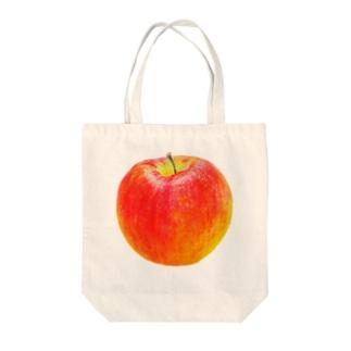 いろえんぴつリンゴ トートバッグ