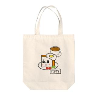 食パン子のモーニング トートバッグ