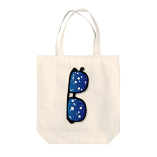 I.gasu soda ダテメガネ【アイガス】 Tote bags
