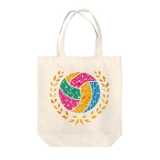 バレーボール Tote bags