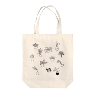 flower3 Tote bags