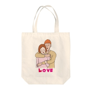 大胸筋LOVE Tote bags