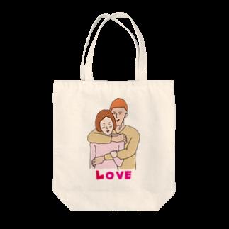 イラスト解剖学教室の大胸筋LOVE Tote bags