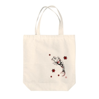 Tribal-鯉- Tote bags