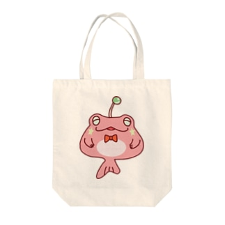 カエルアンコウ Tote bags