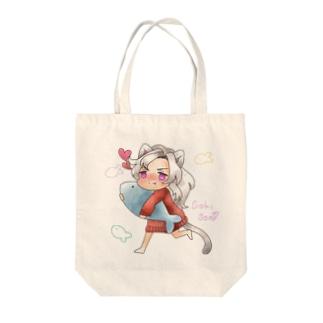 【モンスト】にゃんこ【ベートーヴェン】 Tote bags