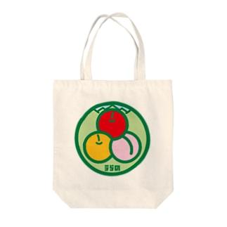 パ紋No.3115 うらの Tote bags