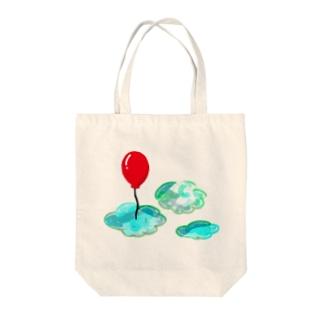 赤い風船 Tote bags