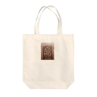なるちゃんちの道祖神  Tote bags