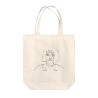 Matilda Black line Tote bags