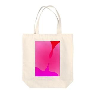 kiss or kiss Tote bags
