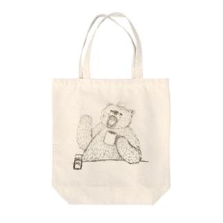 熊貴族 Tote bags