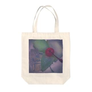 キラキラ闇メロ Tote bags