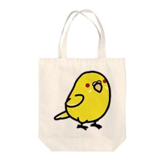 Chubby Bird セキセイインコ ルチノー トートバッグ