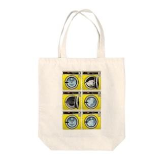 コインランドリー Coin laundry【2×3】 Tote bags