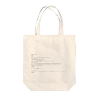 HTML5で作成する時の必要最小限のテンプレート Tote bags