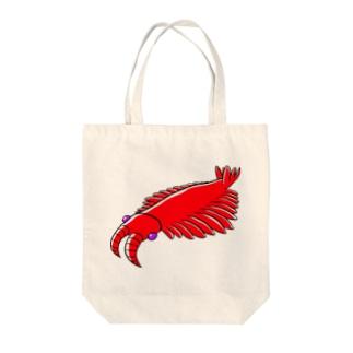 アノマロさん Tote bags