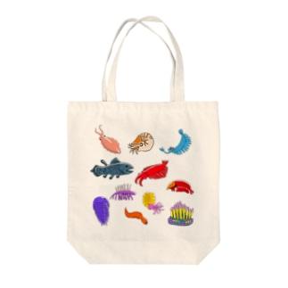 古代生物大集合 Tote bags