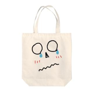顔シリーズ1 Tote bags
