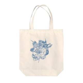 Enigma Object-BL Tote bags