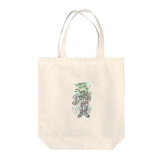 io. item #02 (A Three) Tote bags