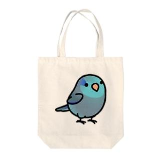Chubby Bird マメルリハ Tote bags