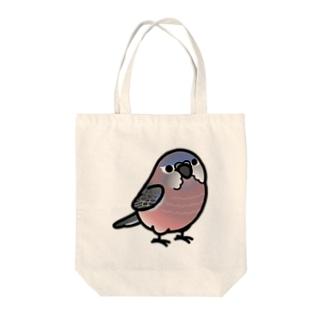 Chubby Bird アキクサインコ Tote bags