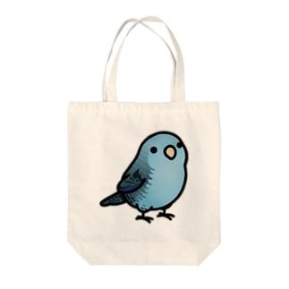 Chubby Bird サザナミインコ Tote bags