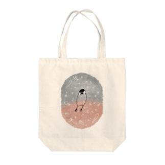 BunchONAKA(さくら) Tote bags