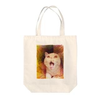 ビックリマンおもち Tote bags