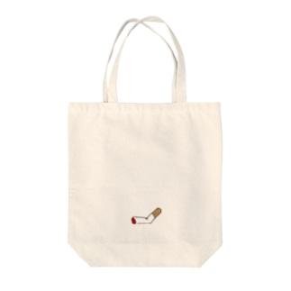 吸い殻 Tote bags
