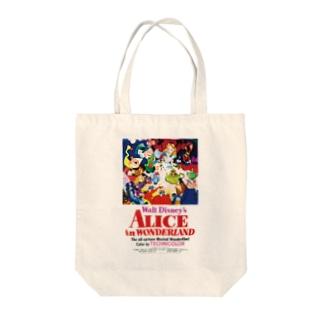 不思議の国のアリス(1951) Tote bags