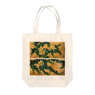 鈴木其一『朝顔図屏風』 Tote bags