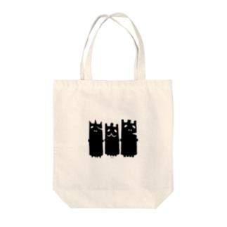 C-cubeのおばけーズ Tote bags