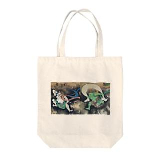 鈴木其一『風神雷神図』 Tote bags